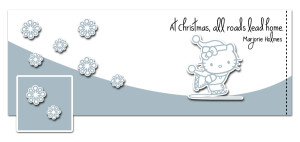 Hello Kitty Christmas Timeline Cover Preview