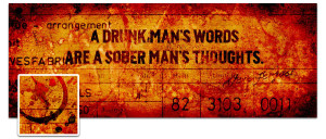 Drunk Man Timeline Cover Preview