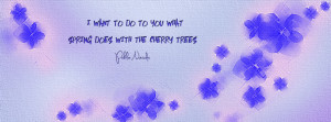 Cherry Trees Timeline Cover