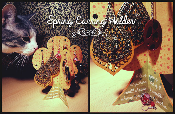 Spring Earring Holder Photo