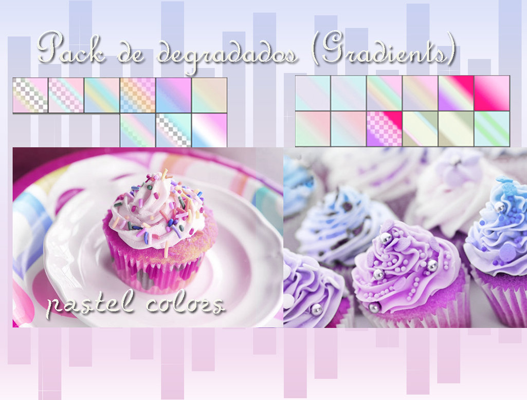 Pastel Colors Gradients