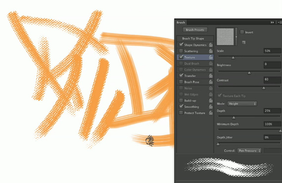 Adding Canvas Texture