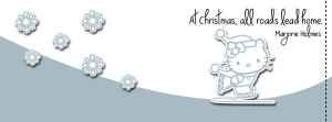 Hello Kitty Christmas Timeline Cover