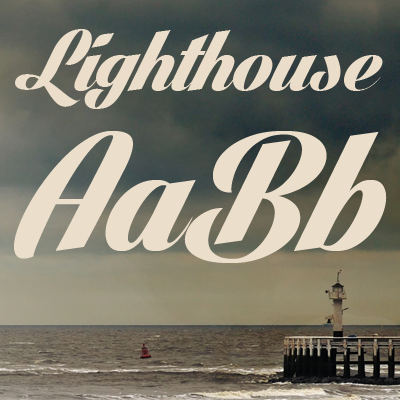 Lighthouse Font