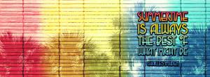 Summertime Timeline Cover
