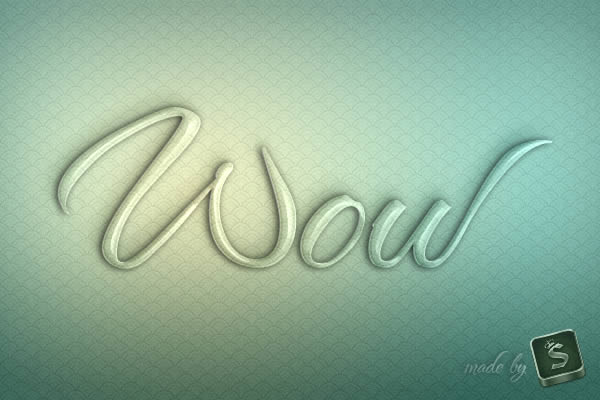 Create a Glass Text Effect in Photoshop Using Layer Styles