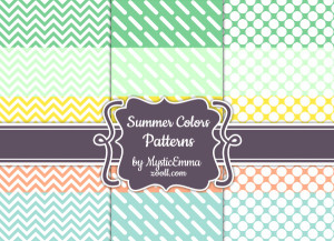 Summer Colors Paterns Preview