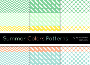Summer Colors Patterns Preview