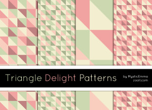 Triangle Delight Patterns Preview