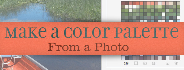 How to Make a Color Palette from a Photo in Photoshop