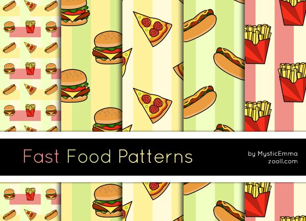 Fast Food Patterns Preview