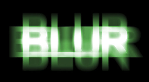 Ghostly Blur Text Effect In Photoshop