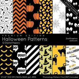 Halloween Patterns Premium Edition Preview
