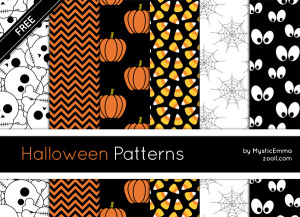 Halloween Patterns Preview