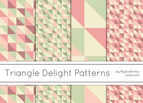 Triangle Delight Patterns Preview ZOOLL
