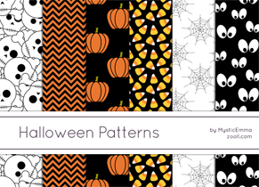 Halloween Patterns Preview ZOOLL