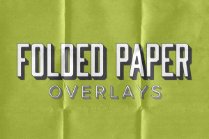 Folded Paper Overlays
