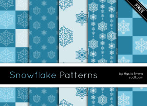 Snowflake Patterns Preview
