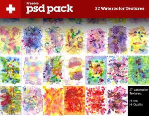 27 High Resolution Watercolor Textures