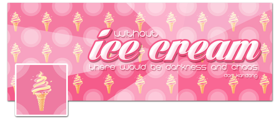 Ice Cream Timeline Cover Preview