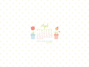 Desktop Wallpaper April 2014 Preview