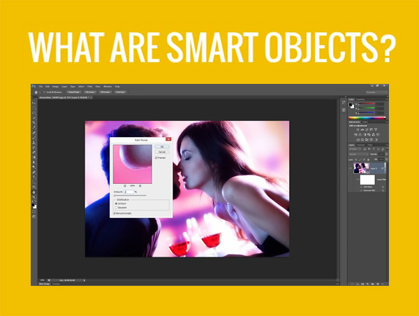 Photoshop Video Tutorial - 5 Reasons Why You Shoul Use Smart Objects