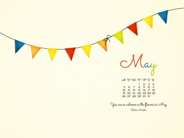 Desktop Wallpaper May 2014 Preview