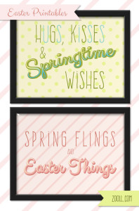 Easter Printables Preview