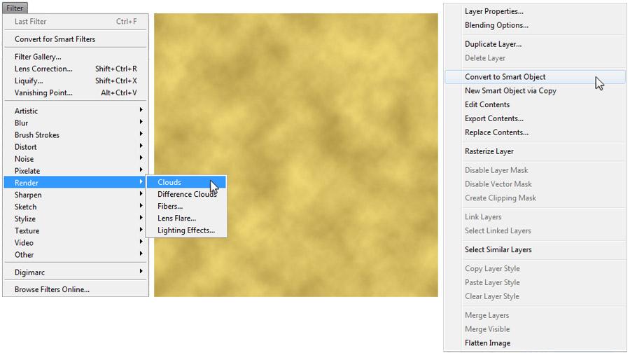 Gold Foil Text 1
