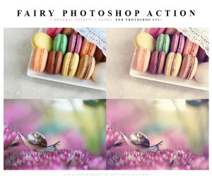 Photoshop Fairy action