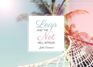 Leap And The Net Wll Appear.