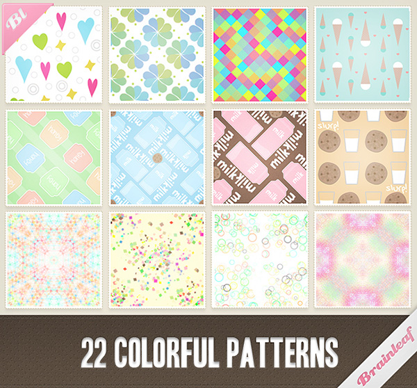 22 Colorful Patterns