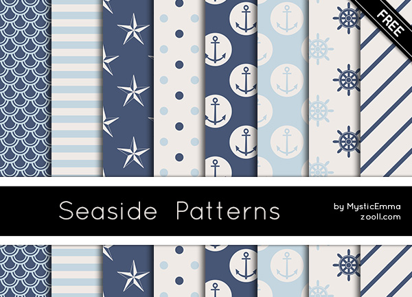 Seaside Patterns Preview