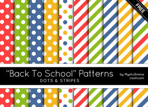 Back To School Patterns Preview