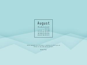 Desktop Wallpaper August 2014 Preview