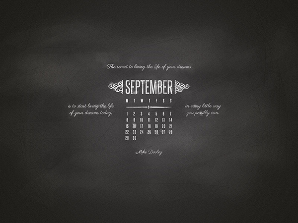 Desktop Wallpaper September 2014 Preview