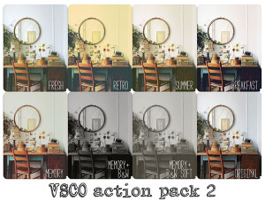 VSCOish Actions Pack 2