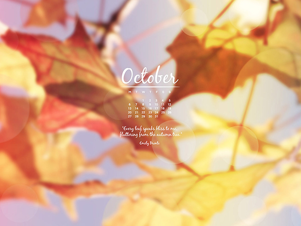 Desktop Wallpaper October 2014 Preview
