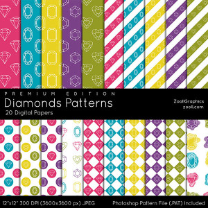 Diamonds Patterns Premium Edition Preview