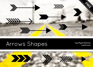 Arrows Shapes Preview