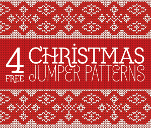 4 Free Christmas Jumper Patterns