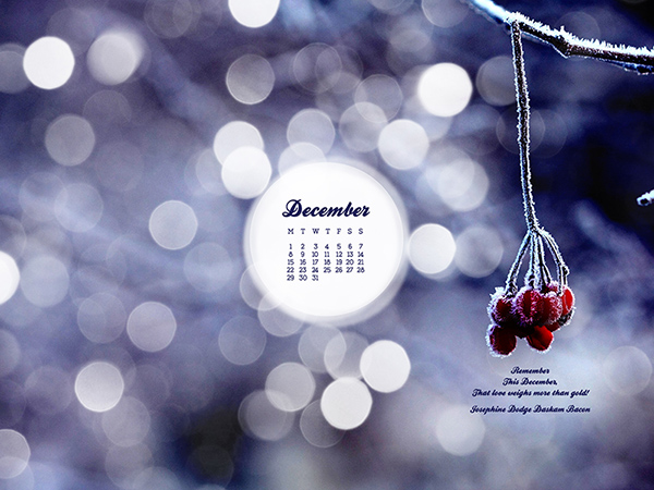 Desktop Wallpaper December 2014 Preview