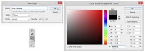 Silver Metallic Texture Photoshop Tutorial -1