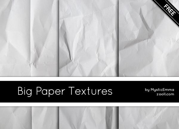 Big Paper Textures Preview