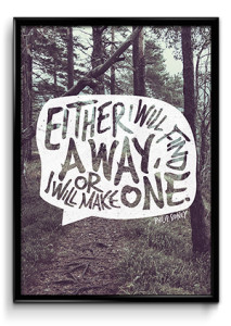 A Way Poster Zooll