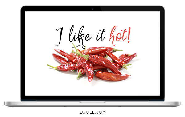 I Like It Hot Desktop Wallpaper Mock Up