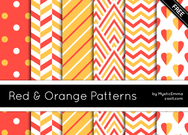 Red And Orange Patterns Preview