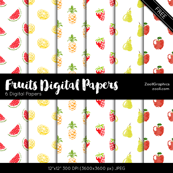 Fruits-Digital-Papers-Preview