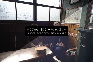 Rescue Under-Exposed JPEG Preview