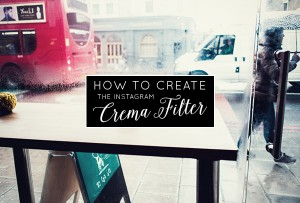 Create Instagram Crema Filter